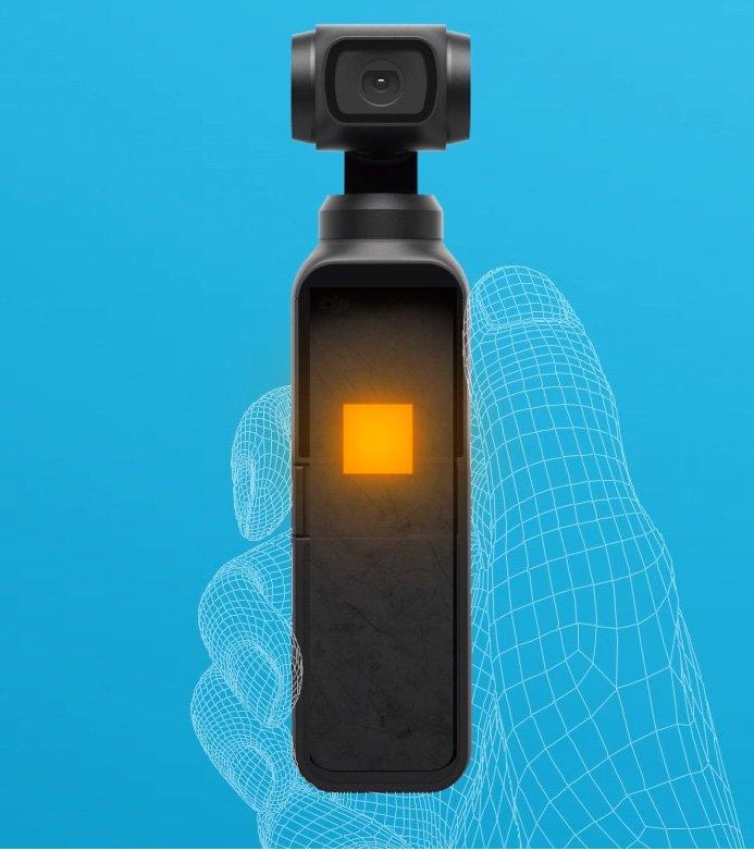 DJI Osmo Pocket posiada ciche i efektywne chłodzenie