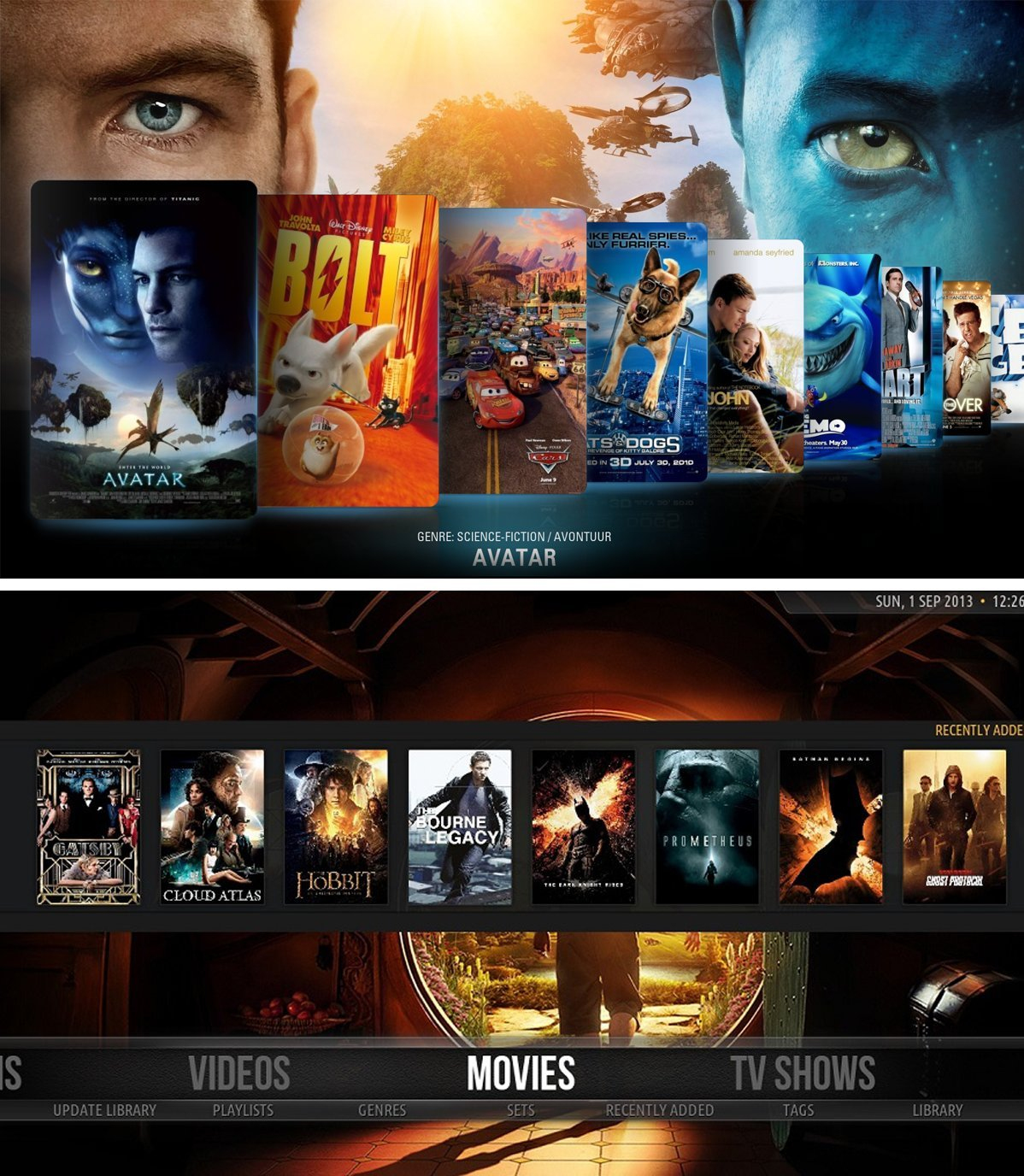 Baza filmów dostępna na Kodi