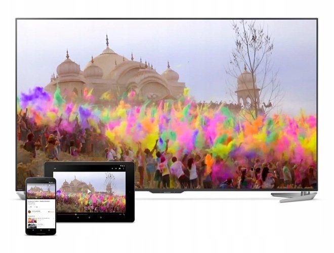 Korzystanie z aplikacji Google Play na ekranie telewizora