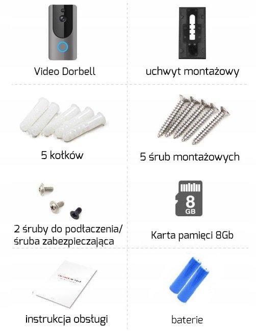Akcesoria montażowe Dzwonka Eken