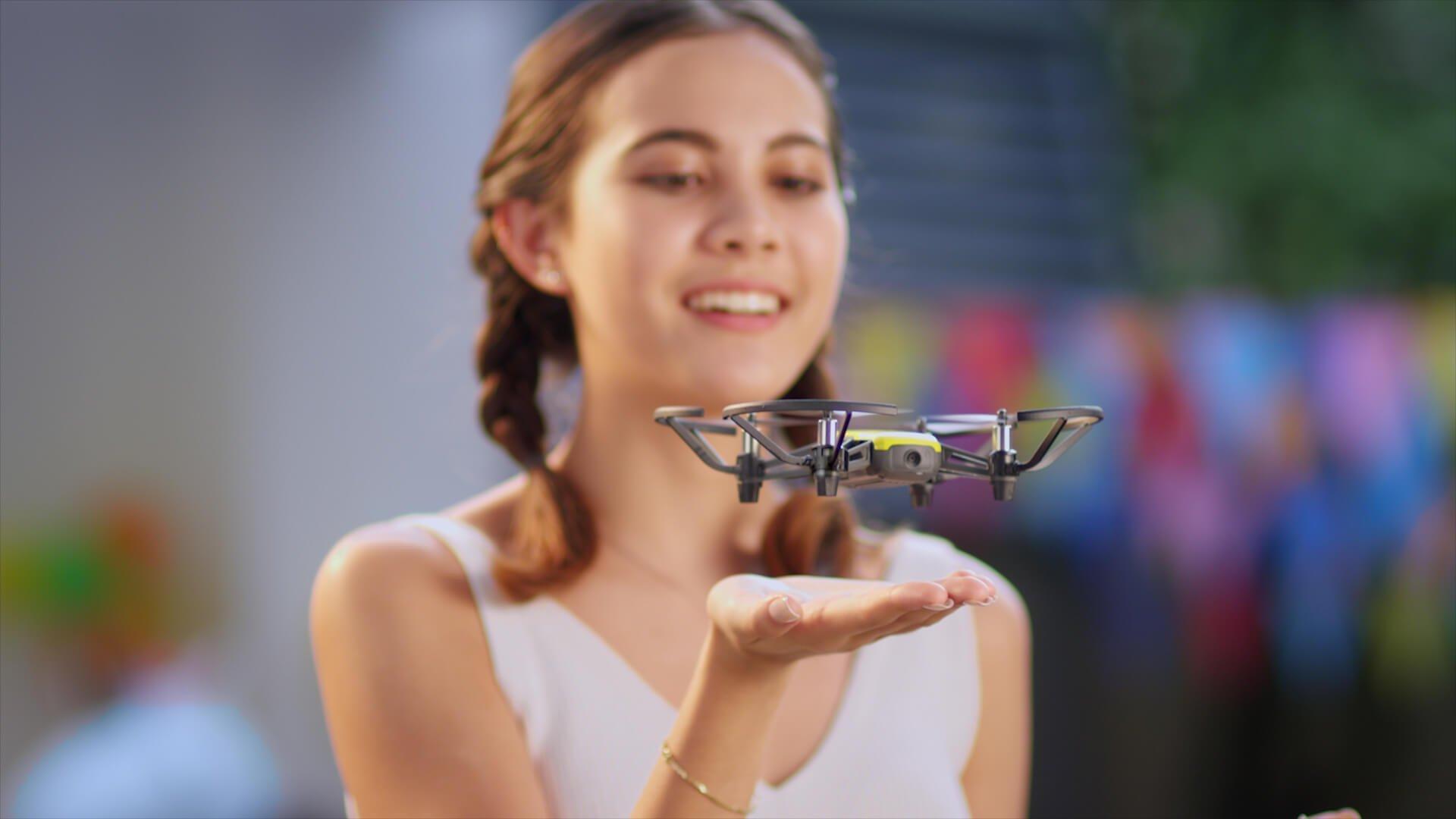 gdziekolwiek jesteś możesz korzystać z drona