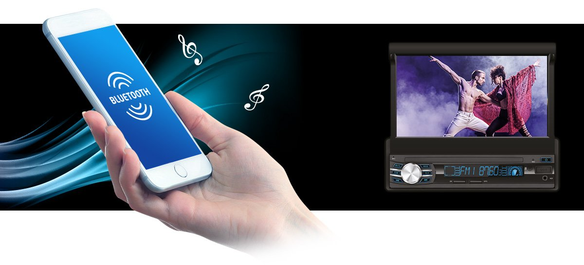 Słuchawnie muzyki przez bluetooth oraz wykonywanie połączeń