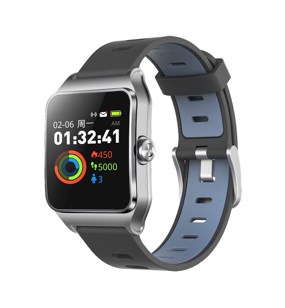 Smartwatch iwown p1c szary z gps, kompasem