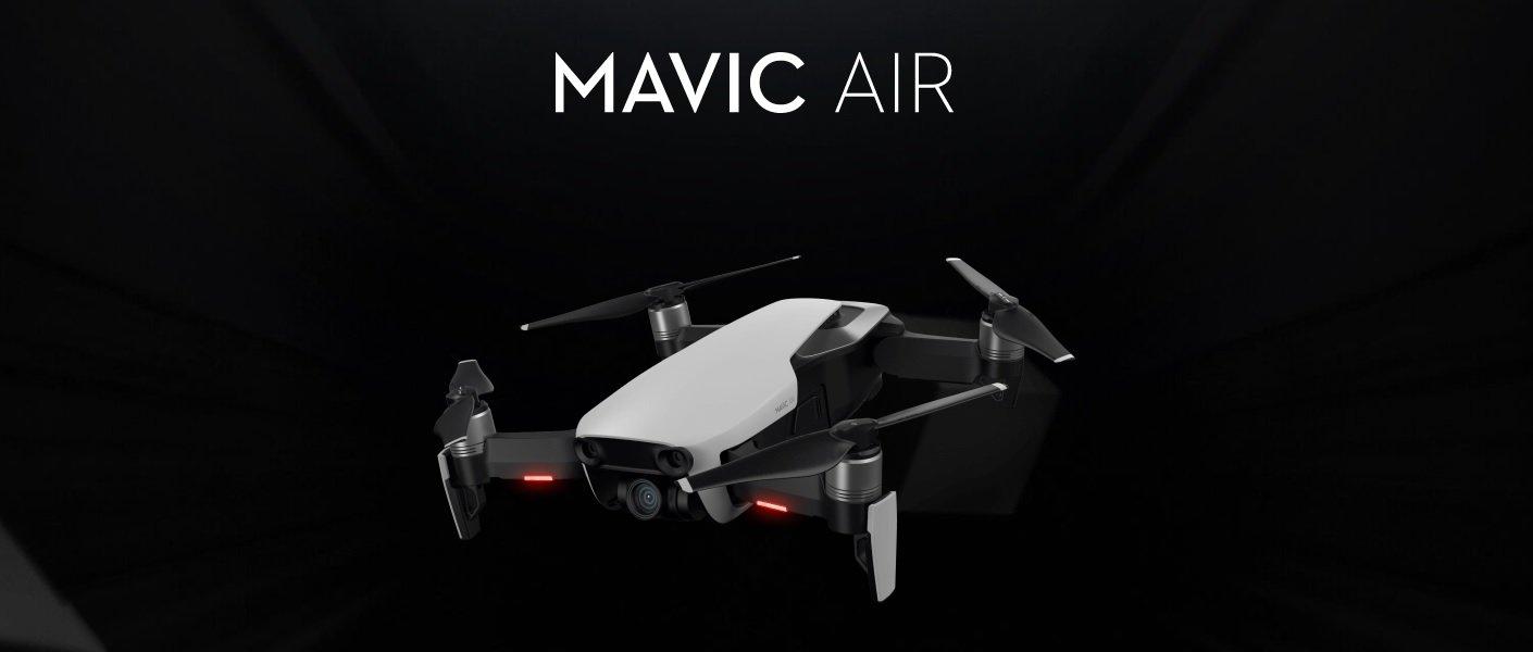 DJI MAVIC AIR Arctic White refurbished Combo