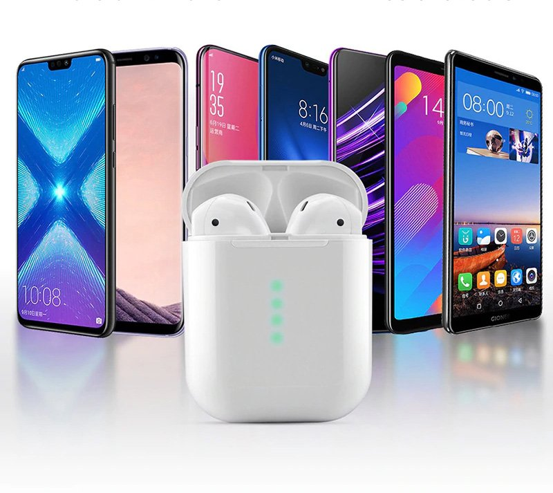 Kompatybilny: Apple IOS, Android, Pad, prawie wszystkie urządzenia bluetooth (BT V4.2 lub powyżej)