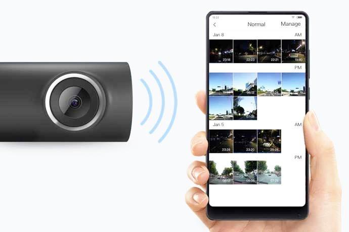 Kamera została wyposażona w moduł WIFI