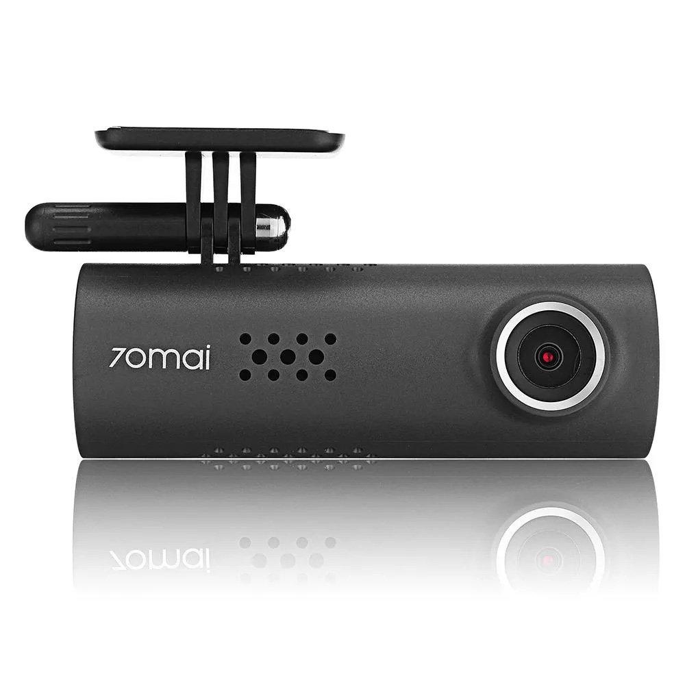 Kamera samochodowa 70mai Dash Cam nagrywa obraz w wysokiej jakości 1920x1080p przy 30kl/s.