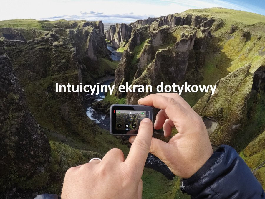 Usprawniony interfejs sprawi że bez problemu ustawisz GoPro pod kątem własnych preferencji
