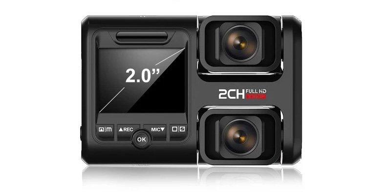 Podwójna kamera samochodowa – dlaczego warto wybrać kamerę 2 obiektywową