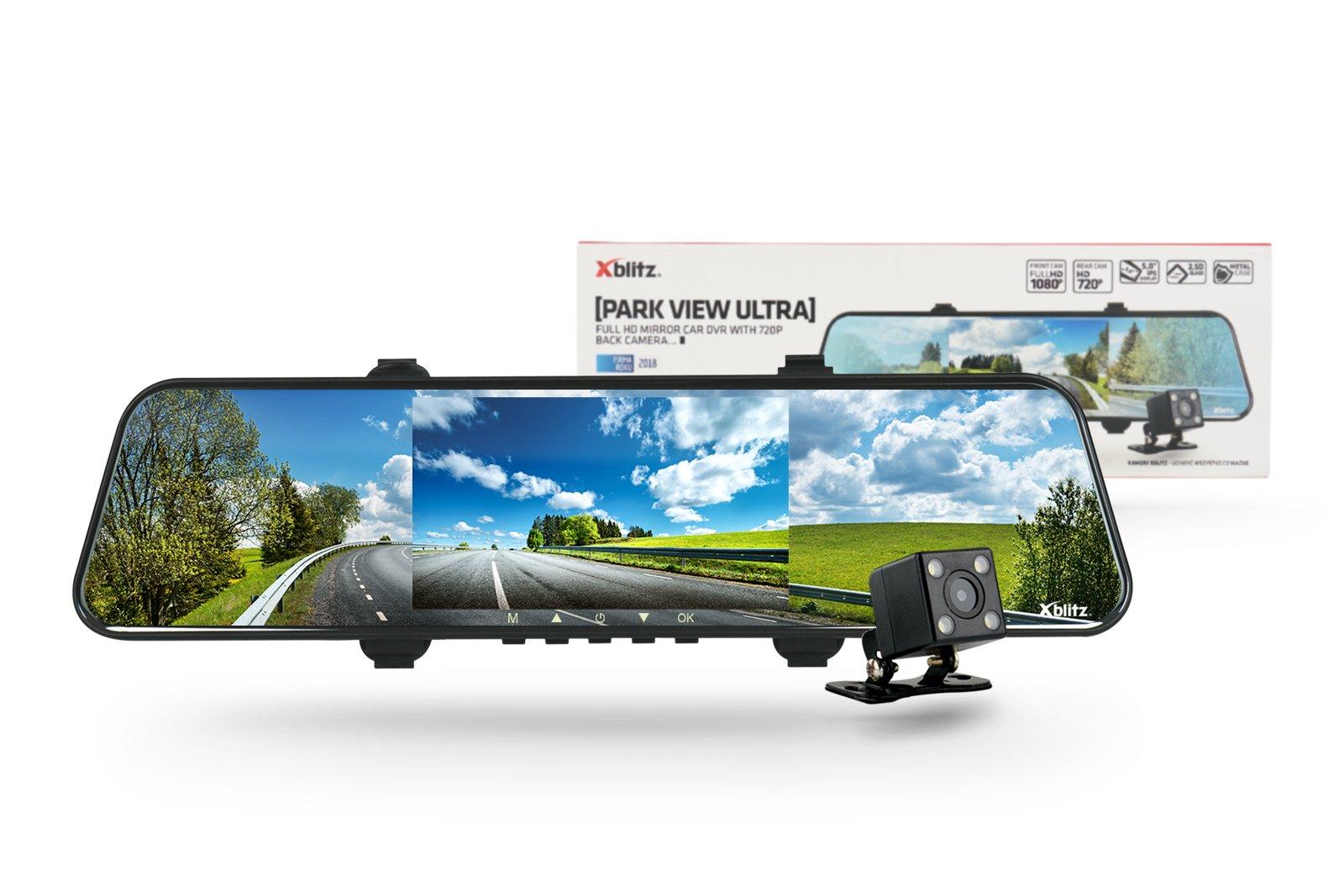 Xblitz Park View Ultra gwarantuje świetną jakość nagrywanych filmów