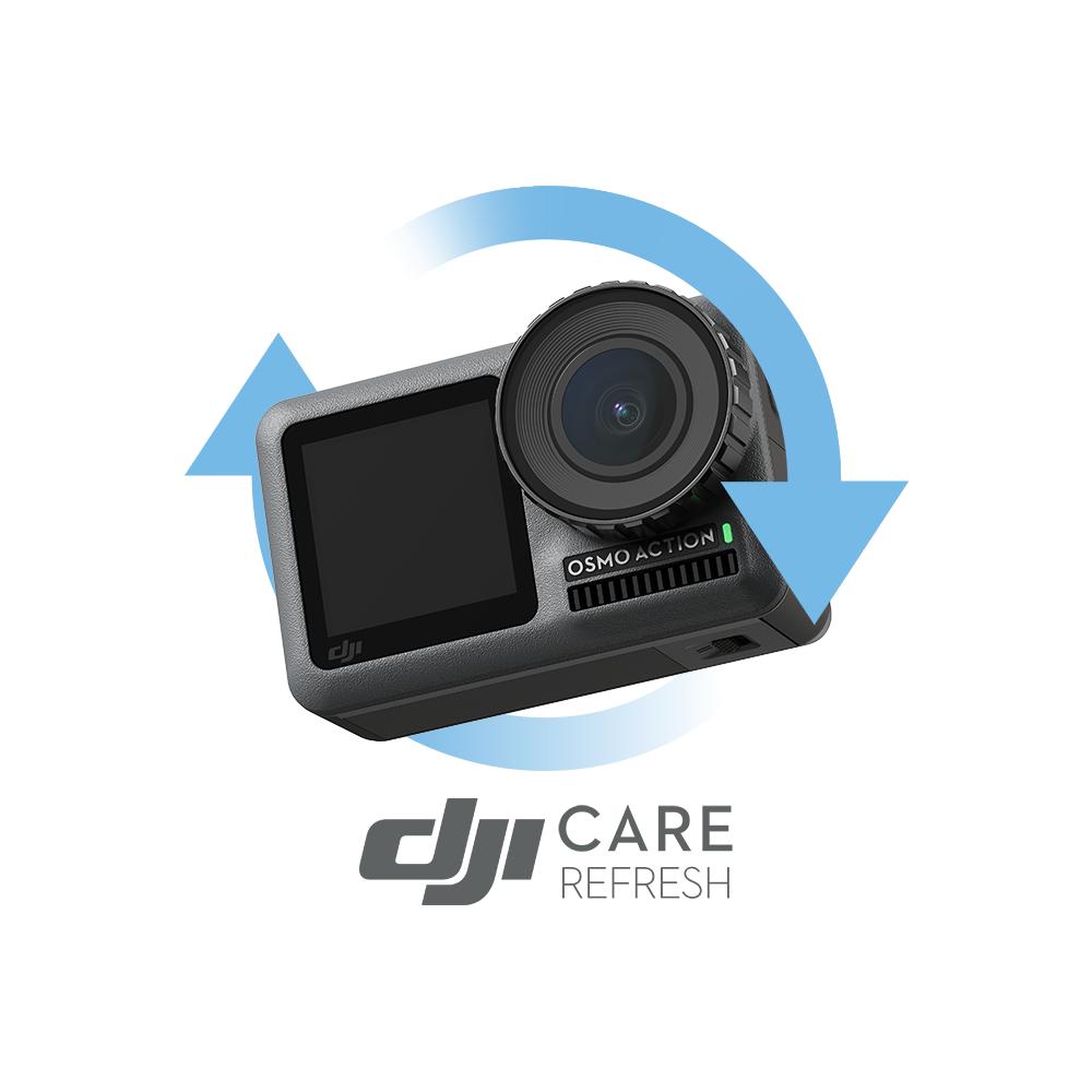 Ubezpieczenie Kamery DJI CARE REFRESH OSMO ACTION KOD