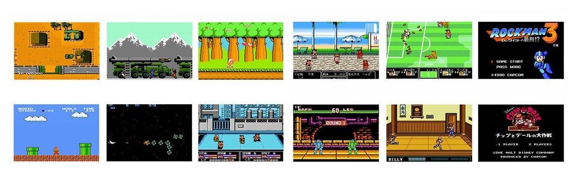 Przenośna konsola do gier, która zmieści się nawet w kieszeni. Daje możliwość zagrania w klasyczne tytuły z dawnych lat.