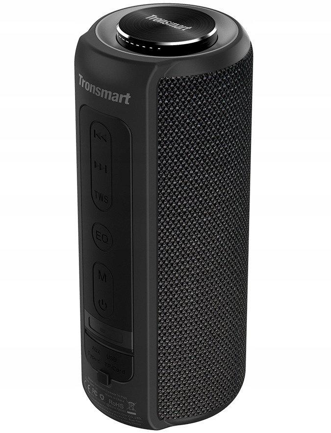 Bluetooth, głosniki 2x20W, wodorność, powerbank