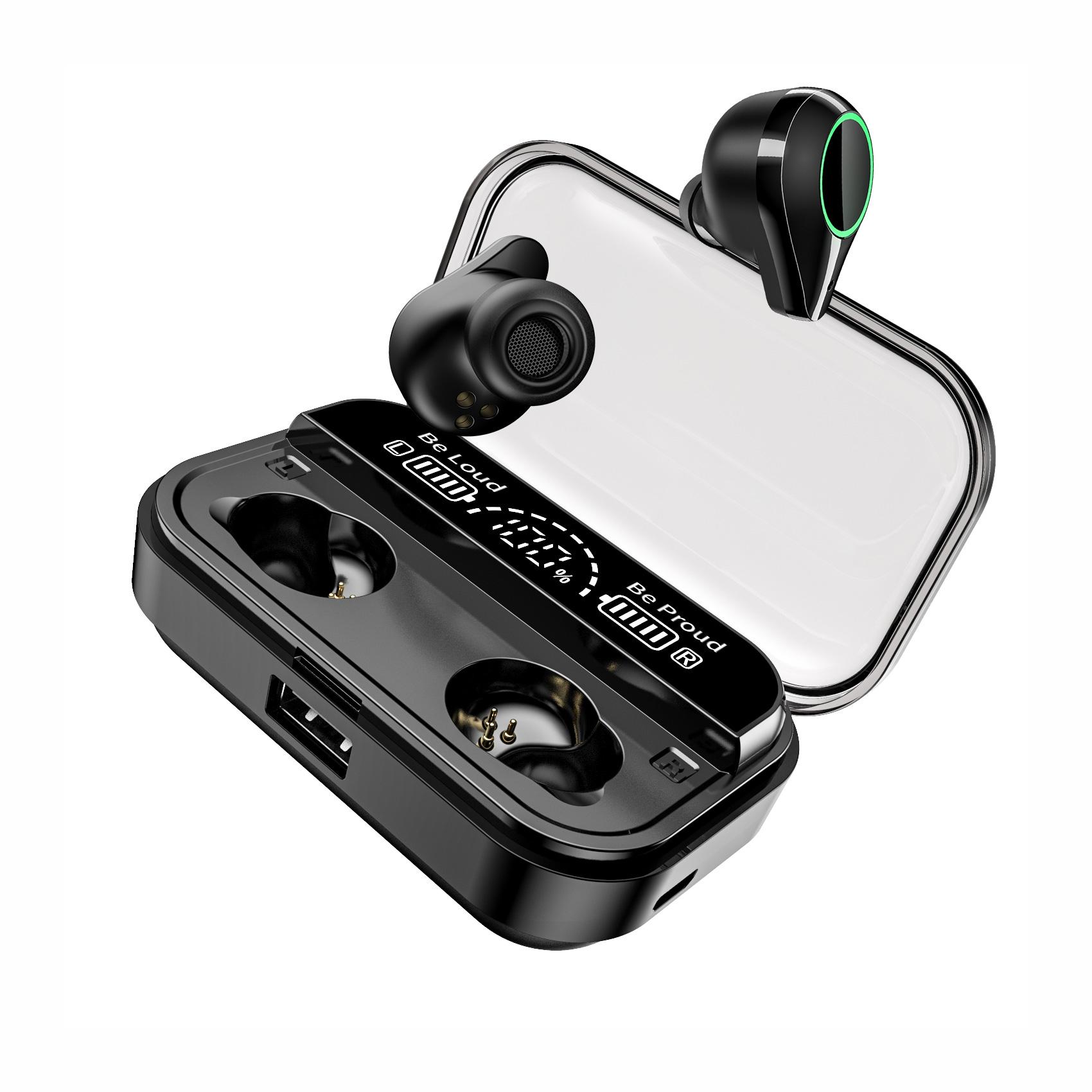 Słuchawki bezprzewodowe TWS + Powerbank 4000mAh