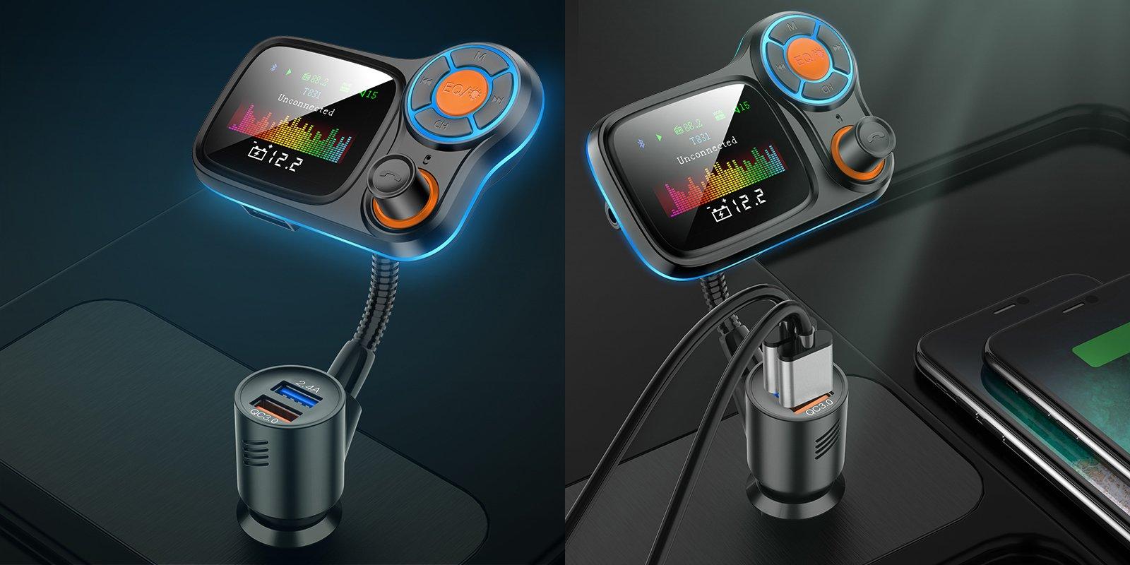 Wbudowany mikrofon o wysokiej wydajności oferuje połączenia i przez to bezpieczniejszą jazdę.