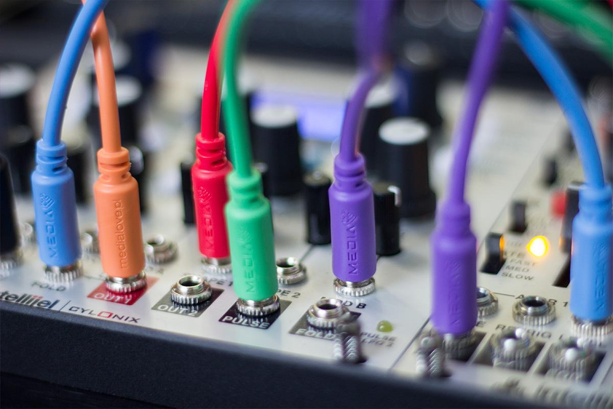 patch kable do syntezatorów modelarnych eurorack
